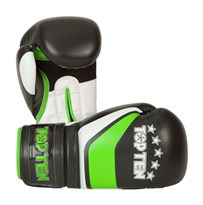"Kickboxing Gloves TOP TEN ""Perfect"" Green 12 oz"