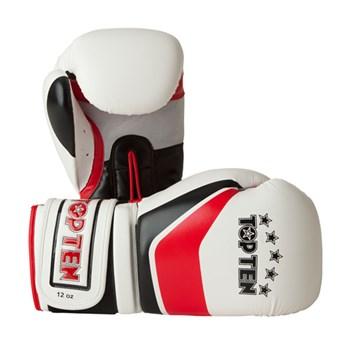 """Kickboxing Gloves TOP TEN """"Perfect"""" White 10oz"""