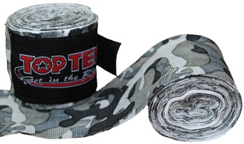 "Elastic hand wraps TOP TEN ""CAMOUFLAGE"" 250 cm"