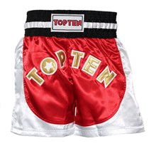 Pantaloncini Kickboxing TOP TEN Kick Light NEON Rosso