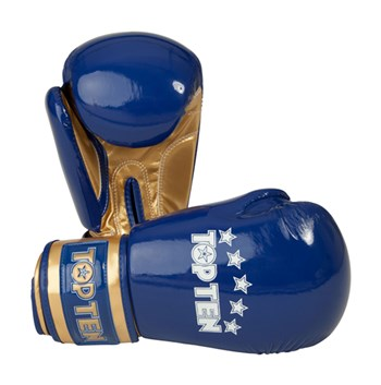 "Boxing Gloves TOP TEN ""Champion"" Blue 10 oz"