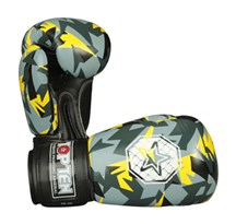 "Guantoni Boxe TOP TEN ""Jungle"" Giallo 10 oz"