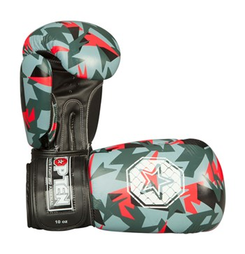 "Boxing Gloves TOP TEN ""Jungle"" Red 10 oz"