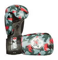 "Guantoni Boxe TOP TEN ""Jungle"" Rosso 10 oz"