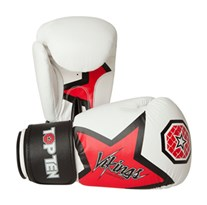 "Guantoni Kickboxing TOP TEN ""Vikings"" Bianco 12 oz"