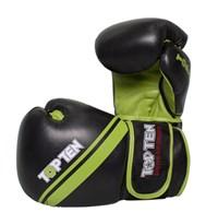 """Thai Boxing Gloves TOP TEN """"Thai Style"""" Green 10 oz"""