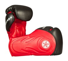 "Boxing Gloves TOP TEN ""Hero"" Red 12 oz"