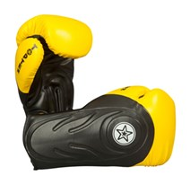 "Boxing Gloves TOP TEN ""Hero"" Yellow 16 oz"