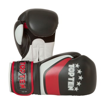 """Kickboxing Gloves TOP TEN """"Perfect"""" Red 10 oz"""