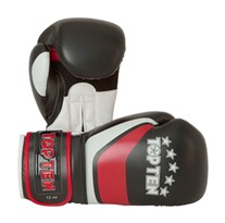 "Kickboxing Gloves TOP TEN ""Perfect"" Red 12 oz"