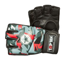 "MMA Gloves TOP TEN ""Jungle"" Red"