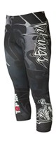 "Pantaloncini TOP TEN MMA Compression 3/4 ""Vikings"" Rosso"