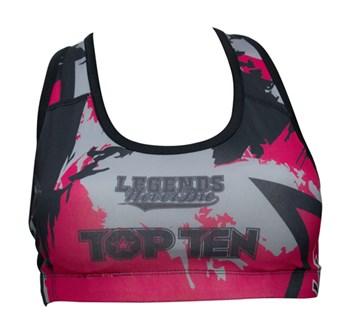 """SportBra TOP TEN """"Vikings"""" Pink"""