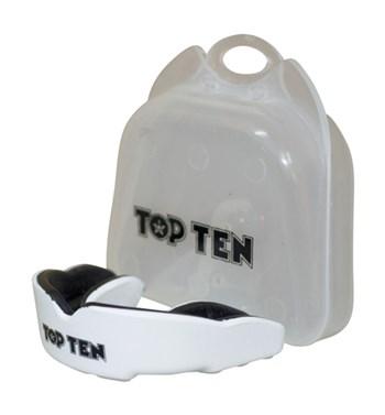 Paradenti TOP TEN Adulto Combat TPR Bianco