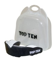 Paradenti TOP TEN Adulto Combat TPR Nero