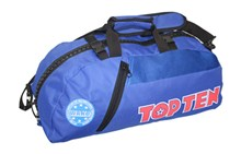 "TOP TEN Sportbag/backpack combo SPORT BAG ""WAKO"" Blue Small"