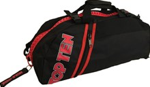 TOP TEN Sportbag/backpack combo SPORT BAG Zip Red Big Customizable