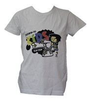 T-Shirt TOP TEN ITF Kids White