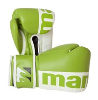 "Guantoni Kickboxing MANUS ""2color"" Verde/Bianco 10 oz"
