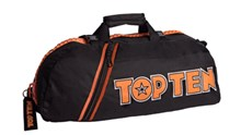 TOP TEN Sportbag/backpack combo SPORT BAG Black/Orange Small