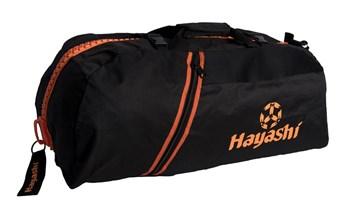 HAYASHI Sportbag/backpack combo SPORT BAG Black/Orange Big