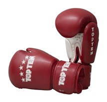 "Kickboxing Gloves TOP TEN ""R2M 2016"" Red/White 10 Oz"