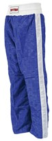 TOP TEN CLASSIC Kickboxing Kids Pants Blue