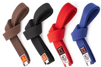 Cintura Arti marziali HAYASHI Nero/Marrone/Rosso/Blu