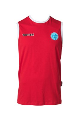 "Competition Shirt TOP TEN ""WAKO"" Red"
