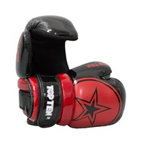 "Pointfighter TOP TEN Glossy ""BLOCK"" Star Black/Red"