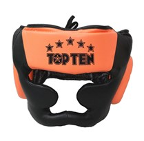 "TOP TEN Headguard ""Eco R2M Line"" NEON"