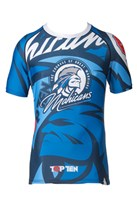 "Rash Guard TOPTEN ""Mohicans"" short sleeve"