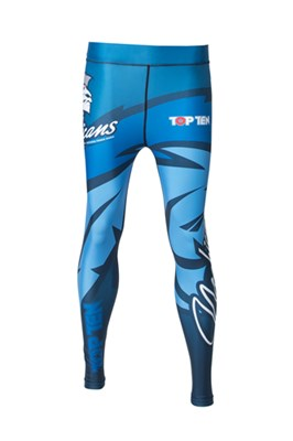 "Compression Pants TOP TEN MMA ""Mohicans"""