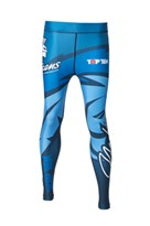 "Pantaloncini TOP TEN MMA Compression ""Mohicans"""