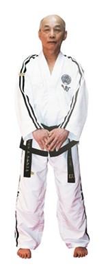 Dobok Taekwondo TOPTEN ITF Premium Gold Edition 7-9 Dan