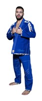 "Brazilian Jiu-Jitsu Gi TOP TEN ""Mohicans"" Blue"