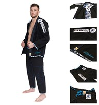 "Brazilian Jiu-Jitsu Gi TOP TEN ""Mohicans"" Black"