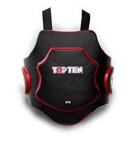 "Kicking Shield Set TOP TEN ""Heavy Duty"" Red"