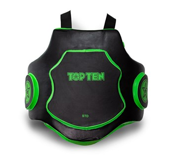 "Kicking Shield Set TOP TEN ""Heavy Duty"" Green"