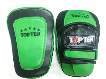 "TOP TEN Focus Mitts Speed ""GEL"" Green"