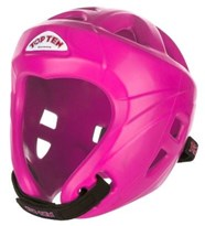 TOP TEN AVANTGARDE headguard NEON Pink