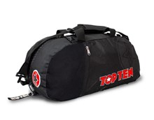 "Borsa multifunzione zaino/tracolla TOP TEN SPORT BAG ""BlackStar"" Grande"