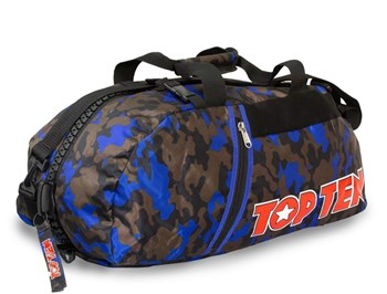 TOP TEN Sportbag/backpack combo SPORT BAG Camouflage/Blue Small