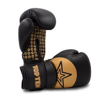 "Boxing gloves TOP TEN ""Wrist Star"" Gold 10 oz"
