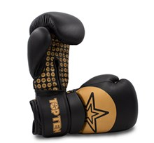 "Boxing gloves TOP TEN ""Wrist Star"" Gold 10 oz"