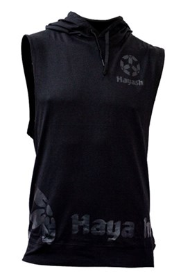 """HAYASHI Hooded Tank """"Biceps"""""""