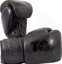 "Boxing Gloves TOP TEN ""Black'n'Black"""