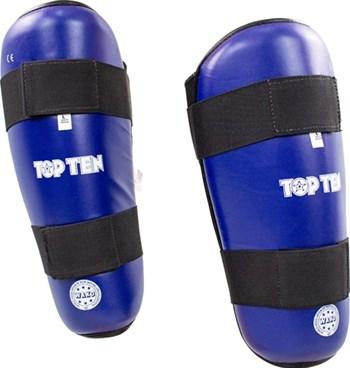 """TOP TEN Shin Guard """"WAKO Style"""" Blue"""