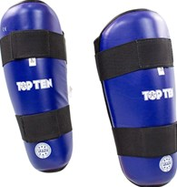 "TOP TEN Shin Guard ""WAKO Style"" Blue"