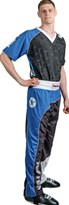 "Divisa Kickboxing TOP TEN ""Bow"" Nero/Blu/Bianco"